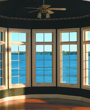Replacement windows vinyl replacement windows u factor for Bow window replacement